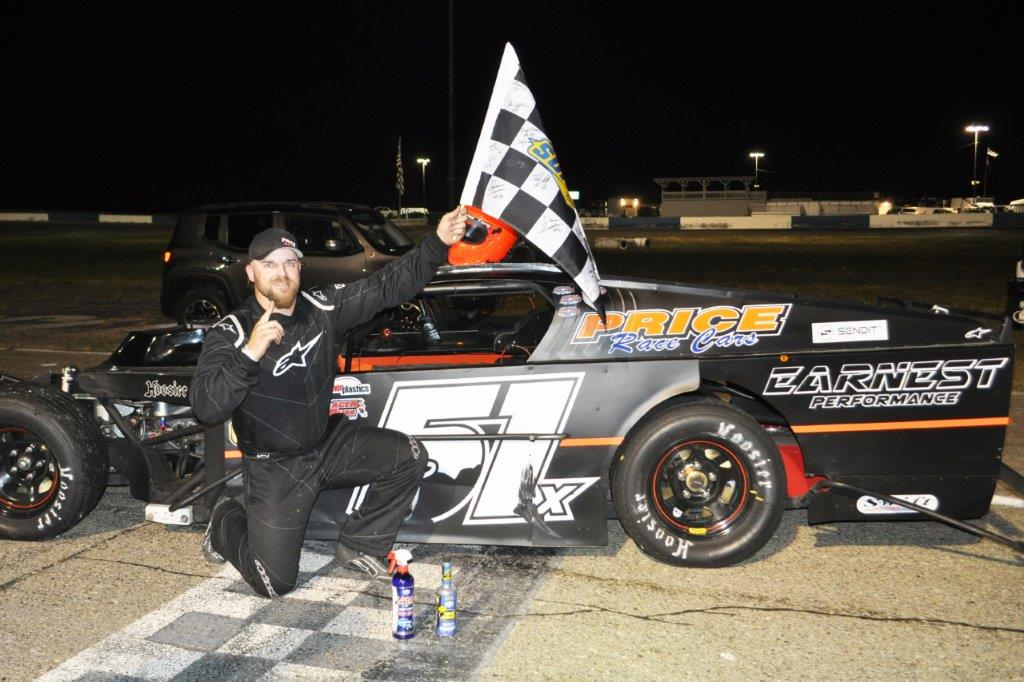 Kris Price Wins at Shasta Speedway
